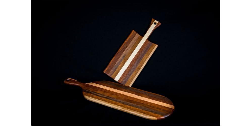 plateau fromage et planche pain baguette faits de bois recycl prise. Black Bedroom Furniture Sets. Home Design Ideas